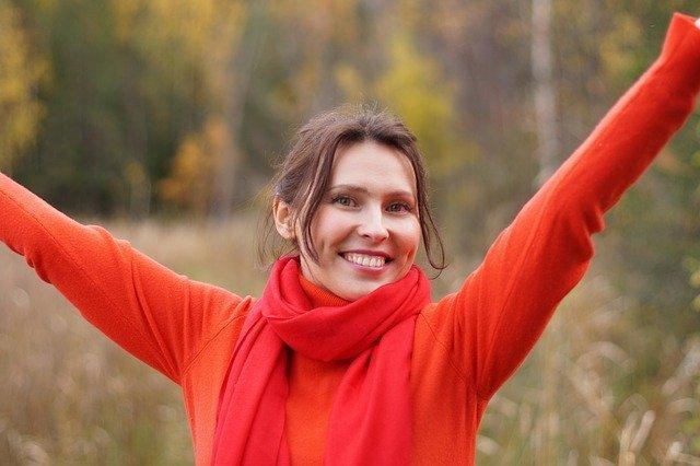 žena sreća